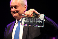 Paul Gambaccini at the 2011 MITs Award. Held at the Grosvenor Hotel London in aid of Nordoff Robbins and the BRIT School. Monday, Nov.7, 2011