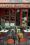 Afro restaurant in Paris, France