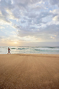 Summer sunrise at Merewether Beach, Newcastle, Australia.