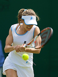 LONDON, ENGLAND - Monday, June 23, 2008: Zuzana Ondraskova (CZE) during her first round match on day one of the Wimbledon Lawn Tennis Championships at the All England Lawn Tennis and Croquet Club. (Photo by David Rawcliffe/Propaganda)