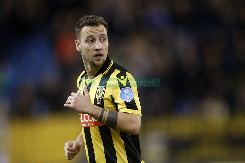Roy Beerens of Vitesse during the Dutch Eredivisie match between Vitesse Arnhem and FC Groningen at Gelredome on February 02, 2018 in Arnhem, The Netherlands
