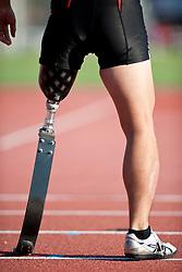 Behind the scenes, , Javelin, F42, 2013 IPC Athletics World Championships, Lyon, France
