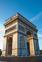 Picture of the Arc de Triomphe, Paris