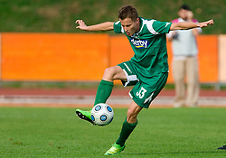 Erik Salkic of Olimpija at 13th Round of Prva Liga football match between NK Olimpija and Maribor, on October 17, 2009, in ZAK Stadium, Ljubljana. Maribor won 1:0. (Photo by Vid Ponikvar / Sportida)