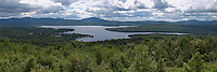 First Connecticut Lake from Mt. Prospect Trail, Pittsburg, NH