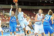 DESCRIZIONE : Riga Latvia Lettonia Eurobasket Women 2009 final 5th-6th Place Italia Grecia Italy Greece<br /> GIOCATORE : Manuela Zanon<br /> SQUADRA : Italia Italy<br /> EVENTO : Eurobasket Women 2009 Campionati Europei Donne 2009 <br /> GARA : Italia Grecia Italy Greece<br /> DATA : 20/06/2009 <br /> CATEGORIA : tiro<br /> SPORT : Pallacanestro <br /> AUTORE : Agenzia Ciamillo-Castoria/M.Marchi<br /> Galleria : Eurobasket Women 2009 <br /> Fotonotizia : Riga Latvia Lettonia Eurobasket Women 2009 final 5th-6th Place Italia Grecia Italy Greece<br /> Predefinita :