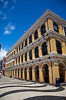 Historic buiding in Senado Square, Macau.