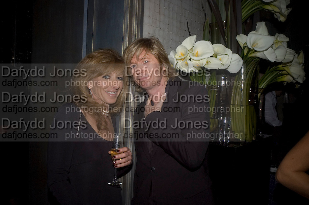 Kelly Hoppen and Nicky Clarke, Dom Perignon and Claudia Schiffer host a celebration of Dom Perignon Oenotheque 1995. The Landau, Portland Place. London W1. 26 February 2008.  *** Local Caption *** -DO NOT ARCHIVE-© Copyright Photograph by Dafydd Jones. 248 Clapham Rd. London SW9 0PZ. Tel 0207 820 0771. www.dafjones.com.