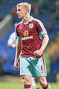 Ben Mee (Burnley) during the Pre-Season Friendly match between Bolton Wanderers and Burnley at the Macron Stadium, Bolton, England on 26 July 2016. Photo by Mark P Doherty.