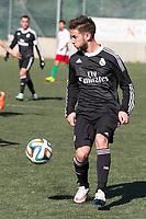 Real Madrid Castilla´s  Alvaro Medran during 2014-15 Spanish Second Division B match between Trival Valderas and Real Madrid Castilla at La Canaleja stadium in Alcorcon, Madrid, Spain. February 01, 2015. (ALTERPHOTOS/Luis Fernandez)