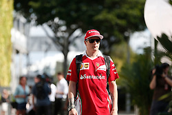 September 16, 2016 - Singapur, Singapur - Motorsports: FIA Formula One World Championship 2016, Grand Prix of Singapore, .#7 Kimi Raikkonen (FIN, Scuderia Ferrari) (Credit Image: © Hoch Zwei via ZUMA Wire)