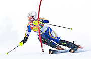 Frida HANSDOTTER (SWE) 5th place at FIS Alpine ski worldcup in Maribor. Golden fox trophy.