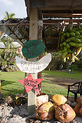 Fruit stand, Hana coast. Maui, Hawaii