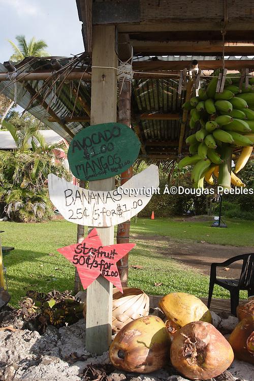 Fruit stand, Hana coast. Maui, Hawaii