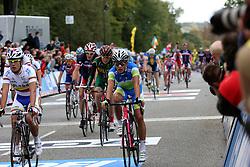 Klemen Stimulak  during the Men´s Under 23 Road Race on day five of the UCI Road World Championships on September 23, 2011 in Copenhagen, Denmark. (Photo by Marjan Kelner / Sportida Photo Agency)