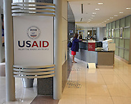 The U.S. Agency for International Development (USAID) in the Ronald Reagan Building and International Trade Center in Washington, DC on Friday, April 12, 2013.