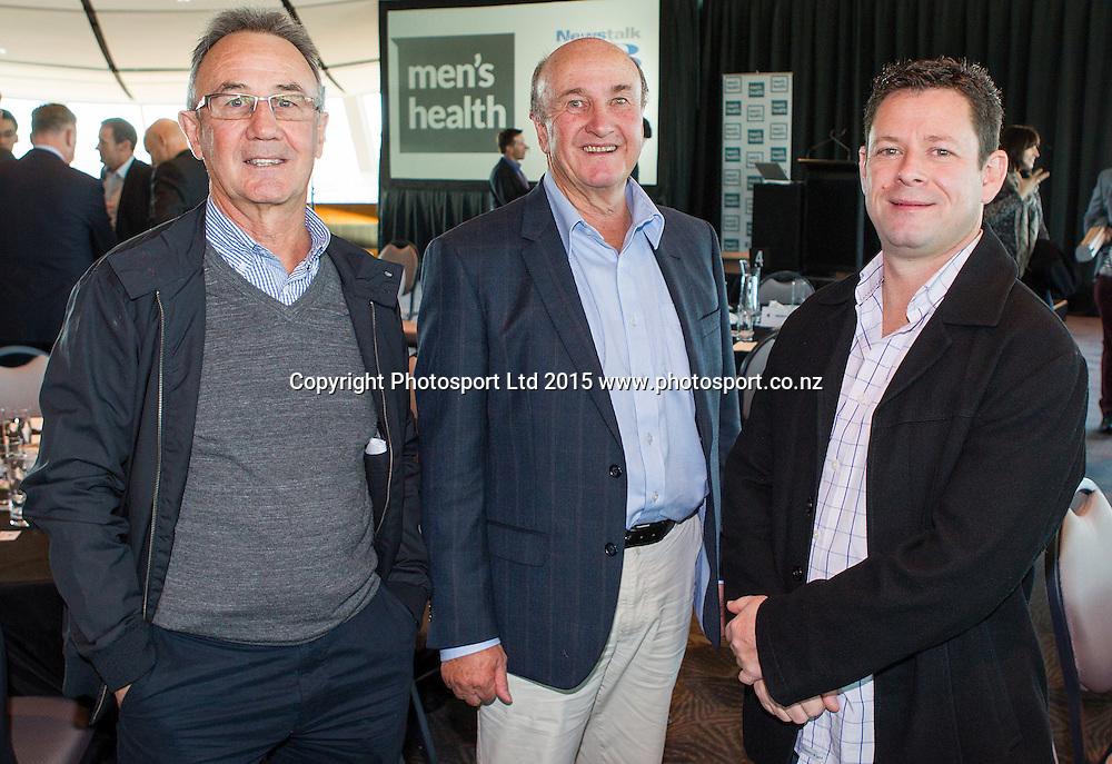Men`s Health Week Breakfast, Museum Dome, Auckland, New Zealand, Monday, June 08, 2015. Copyright photo: David Rowland / www.photosport.co.nz