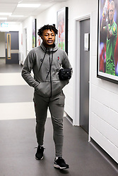 Antoine Semenyo of Bristol City arrives - Rogan/JMP - 10/12/2019 - Ashton Gate Stadium - Bristol, England - Bristol City v Milwall FC - Sky Bet Championship.