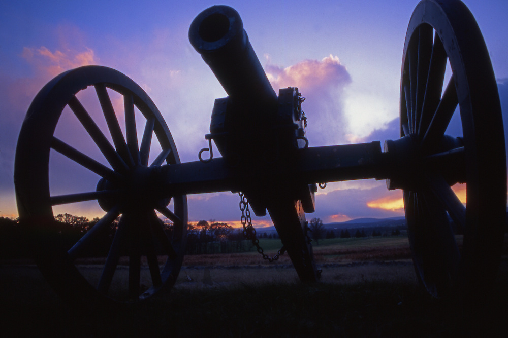 Civil War Cannon, Gettysburg National Military Park