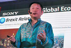 August 17, 2017 - Kolkata, West Bengal, India - Managing Director, Sony India, Kenichiro Hibi during press conference to announce Sony's sales strategy and investment plan for the region on Aug 17, 2017 in Kolkata. (Credit Image: © Saikat Paul/Pacific Press via ZUMA Wire)
