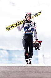 22.02.2019, Bergiselschanze, Innsbruck, AUT, FIS Weltmeisterschaften Ski Nordisch, Seefeld 2019, Skisprung, Herren, im Bild Markus Eisenbichler (GER) // Markus Eisenbichler of Germany during the men's Skijumping of FIS Nordic Ski World Championships 2019. Bergiselschanze in Innsbruck, Austria on 2019/02/22. EXPA Pictures © 2019, PhotoCredit: EXPA/ JFK