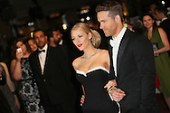 "CANNES, FRANCE - MAY 16:  Blake Lively and Ryan Reynolds attend ""The Captive"" Premiere at the 67th Annual Cannes Film Festival on May 16, 2014 in Cannes, France.  (Photo by Tony Barson/FilmMagic)"