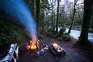 Olympic Peninsula, Washington 2015 - New Years Van Camping Photos