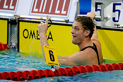 06-12-2008 ZWEMMEN: SWIMCUP: EINDHOVEN<br /> Bastiaan Tamminga wint de 50 meter vlinder<br /> ©2008-WWW.FOTOHOOGENDOORN.NL