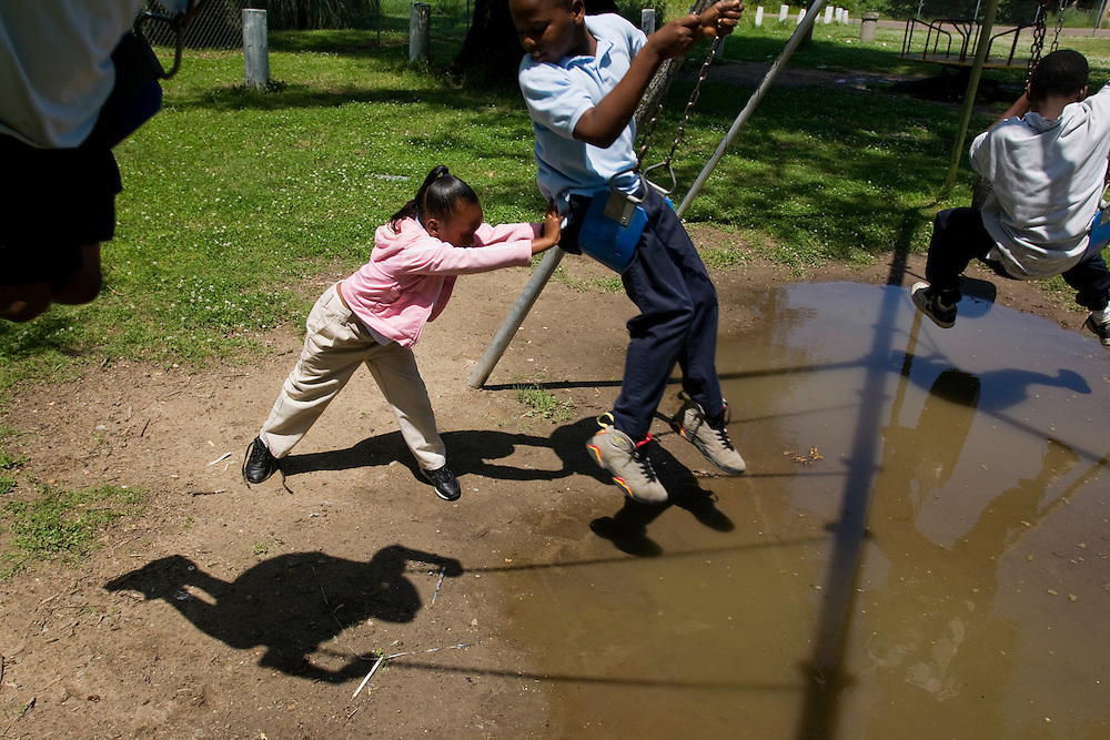 Playground, Clarksdale, Miss., 2007. Photo by D.L. Anderson