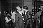 DEREK  BLASBERG; JACK GUINNESS; , Tom Ford cocktail and preview of Tom Ford's Spring-Summer 2016 Menswear Collection. 201-202 Sloane St. London. 14 June 2015