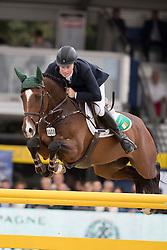 O Neill Gerard, IRL, Killossery Kaiden<br /> FEI World Breeding Jumping Championships for Young horses - Lanaken 2016<br /> © Hippo Foto - Dirk Caremans<br /> 18/09/16