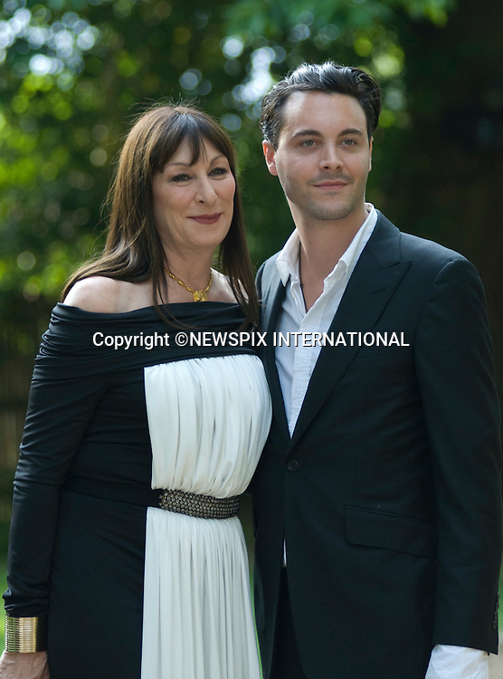 "ANGELICA HOUSTON AND JACK HUSTON.Raisa Gorbachev Foundation 5th Annual Gala Dinner hosted by President Mikhail Gorbachev, Evgeny Lebedev and Geordie Greig, Hampton Court,London_05/06/2010..Mandatory Credit Photo: ©DIAS-NEWSPIX INTERNATIONAL..**ALL FEES PAYABLE TO: ""NEWSPIX INTERNATIONAL""**..IMMEDIATE CONFIRMATION OF USAGE REQUIRED:.Newspix International, 31 Chinnery Hill, Bishop's Stortford, ENGLAND CM23 3PS.Tel:+441279 324672  ; Fax: +441279656877.Mobile:  07775681153.e-mail: info@newspixinternational.co.uk"