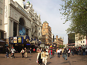 A51PCC Asian tourist couple in Leicester Square London England