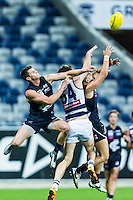 Friday 15 April 2016<br /> <br /> 2016 Peter Jackson VFL Season<br /> <br /> Round 2<br /> Geelong vs Northern Blues<br /> Simonds Stadium<br /> <br /> #PJVFL #WeMarchNorth<br /> <br /> Photo Credit: Tim Murdoch/Tim Murdoch Photography