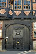 Goslar Altstadt, UNESCO-Welterbestätte..Siemenshaus, Tor