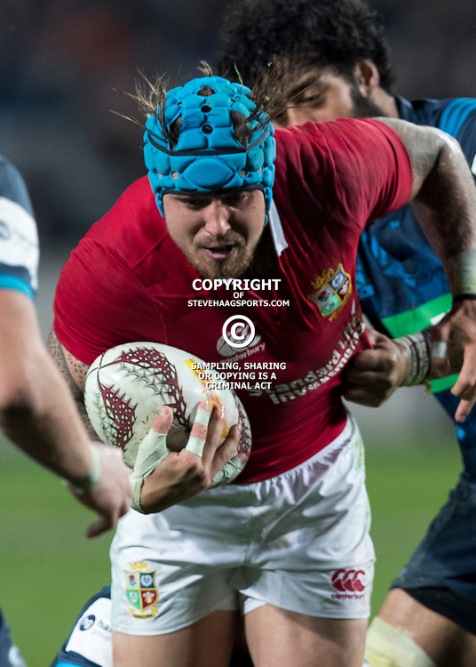 Jack Nowell, Eden Park, Auckland game 2 of the British and Irish Lions 2017 Tour of New Zealand,The match between the Auckland Blues and British and Irish Lions, Wednesday 7th June 2017   <br /> <br /> (Photo by Kevin Booth Steve Haag Sports)<br /> <br /> Images for social media must have consent from Steve Haag