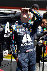April 13, 2018 - Bristol, TN, U.S. - BRISTOL, TN - APRIL 13:  #24: William Byron, Hendrick Motorsports, Chevrolet Camaro AXALTA during practice for the 58th annual Food City 500 on April 13, 2018 at Bristol Motor Speedway in Bristol, Tennessee (Photo by Jeff Robinson/Icon Sportswire) (Credit Image: © Jeff Robinson/Icon SMI via ZUMA Press)