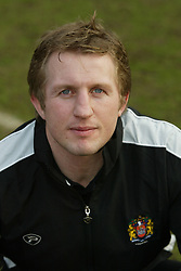 WIGAN, ENGLAND - Tuesday, January 6, 2004: Wigan Warriors' assistant coach Denis Betts pictured during the team's pre-season photo-call at the JJB Stadium. (Pic by David Rawcliffe/Propaganda)