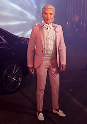 Rodrigo Alves enters the house during the Celebrity Big Brother Launch Night at Elstree Studios, Hertfordshire.