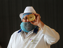 Scotch Pie Championships_Dunfermline Blcc_20-11-2019<br /> <br /> Judge, James McCormack<br /> <br /> (c) David Wardle | Edinburgh Elite media