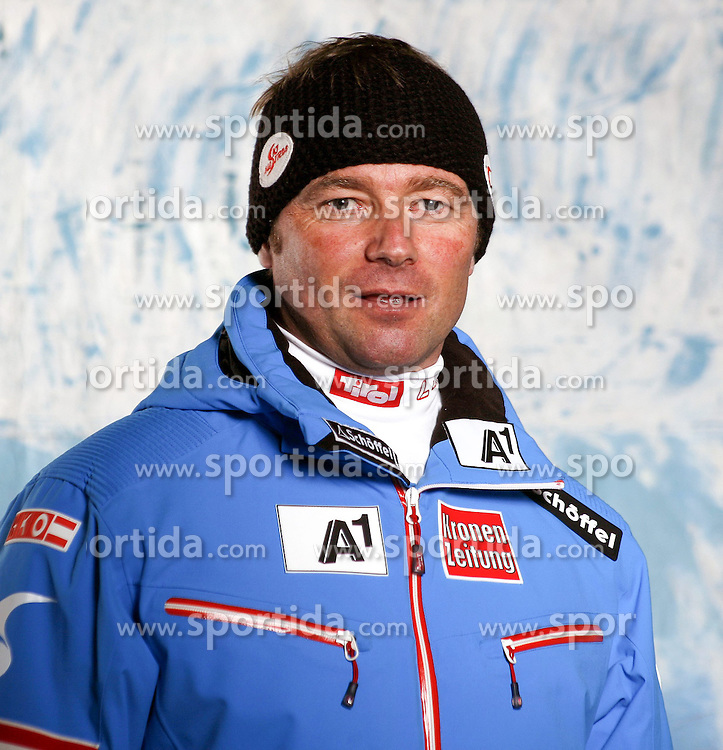 20.10.2012, Messehalle, Innsbruck, AUT, OeSV, Ski Alpin, Fototermin, im Bild Florian Raich (OeSV Trainer Ski Alpin) // during the official Portrait and Teamshooting of the Austrian Ski Federation (OeSV) at the Messehalle, Innsbruck, Austria on 2012/10/20. EXPA Pictures © 2012, PhotoCredit: EXPA/ OeSV/ Erich Spiess