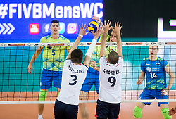 Jan Kozamernik of Slovenia during volleyball match between National teams of Slovenia and Georgia in 2nd Round of 2018 FIVB Volleyball Men's World Championship qualification, on May 24, 2017 in Arena Stozice, Ljubljana, Slovenia. Photo by Vid Ponikvar / Sportida