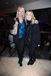 Left to right, ANNEKA RICE and FIONA PHILLIPS at the Costa Book Awards 2009 held at Quaglino's, 16 Bury Street, London SW1 on 26th January 2010.