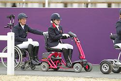 Näpel, Britta;<br /> Baker, Natasha<br /> , <br /> London Paralympics 2012<br /> Grade II<br /> © www.sportfotos-lafrentz.de/ Stefan Lafrentz