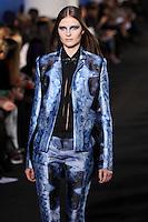 Vasilisa Pavlova walks down runway for F2012 Prabal Gurung's collection in Mercedes Benz fashion week in New York on Feb 10, 2012 NYC