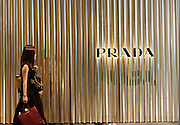 Prada sign in Singapore