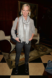 HERMIONE NORRIS at the London launch of Casamigos Tequila hosted by Rande Gerber, George Clooney & Michael Meldman and to celebrate Cindy Crawford's new book 'Becoming' held at The Beaumont Hotel, Brown Hart Gardens, 8 Balderton Street, London on 1st October 2015.