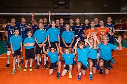 06-09-2018 NED: Netherlands - Argentina, Doetinchem<br /> First match of Gelderland Cup / Team Netherlands with court crew