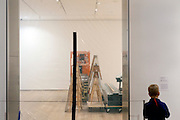 gallery closed for installation of a new show at the Museum of Modern Art in New York