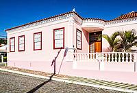 Casa colonial no centro histórico de São José. São José, Santa Catarina, Brasil. / Colonial architecture house in the historic center of Sao Jose. Sao Jose, Santa Catarina, Brazil.
